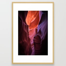 Painter's Brushstrokes in Arizona Framed Art Print