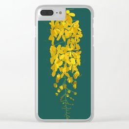 Golden rush Clear iPhone Case