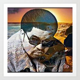 Heavy D & the Boyz - BLM - Hip Hop - Society6 - Dwight Arrington Myers - 46 Art Print