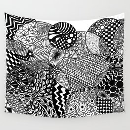 Mimi Doodle Wall Tapestry