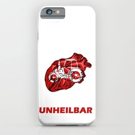 The doctor says it's incurable Tractor iPhone Case