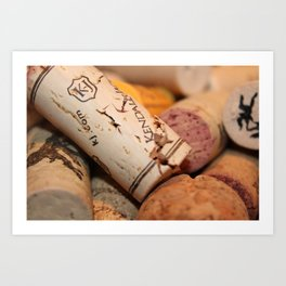 Wine not? Art Print