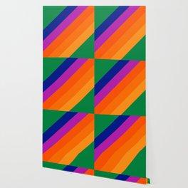 Simple Stripes - Grass Wallpaper
