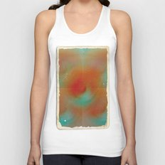 carrot and eggplant Unisex Tank Top