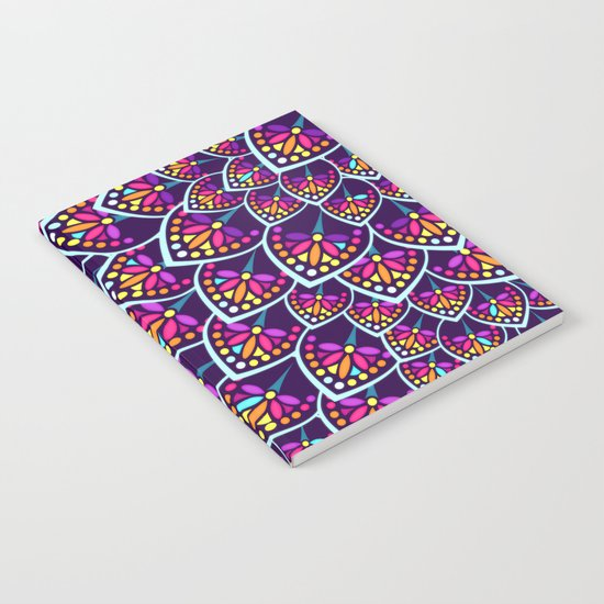 Madeleine Pattern Notebook