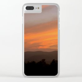 Sunset in Vermont Clear iPhone Case