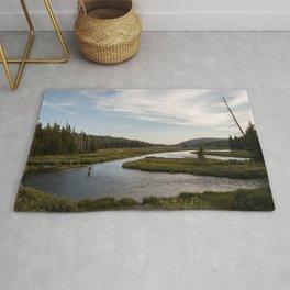 Yellowstone Fly Fishing Rug