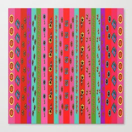 Bright Borders Canvas Print