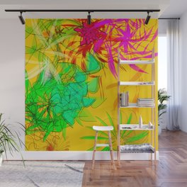 Low bow to the movement: nice digital modern art 4U Wall Mural
