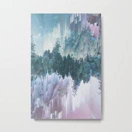 Glitched Landscapes Collection #5 Metal Print