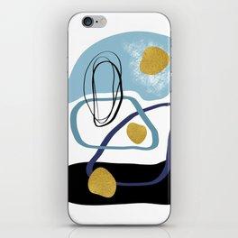 Modern minimal forms 10 iPhone Skin