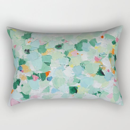 Tropical Dance (rectangle) Rectangular Pillow