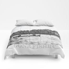Gone Fishing Comforters
