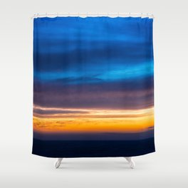 Deep Transition Shower Curtain
