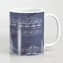 "Sheet Music - Debussy's ""Childrens Corner"" (Doctor Gradus ad Parnassum) Coffee Mug"