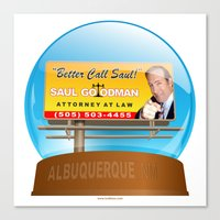better call saul Canvas Prints featuring Better Call Saul! by tuditees