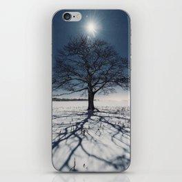 Winter Shadows iPhone Skin