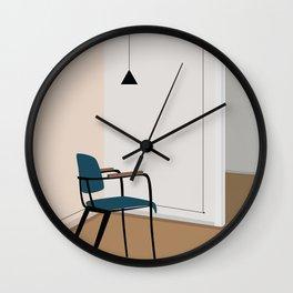 Vintage retro chair Wall Clock