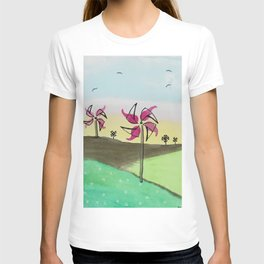 skyscapes 13 T-shirt