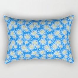Inspirational Glitter & Bubble pattern Rectangular Pillow