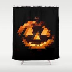 Jack-o Shower Curtain