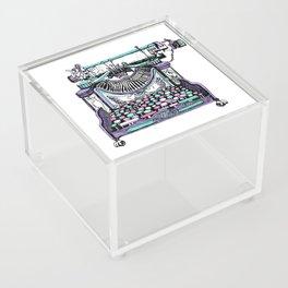 Magical Typewriter Acrylic Box