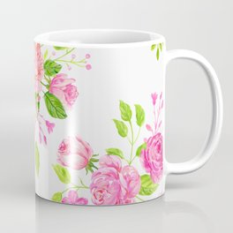 English Rose Pattern 01 Coffee Mug