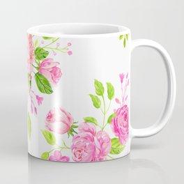 English Rose Pattern 01 Coffee Mug