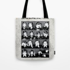 David Bowie : Sound and Vision Tote Bag