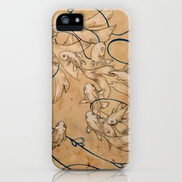 Twirl and Loop iPhone Case