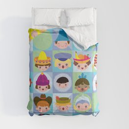 small world Comforters