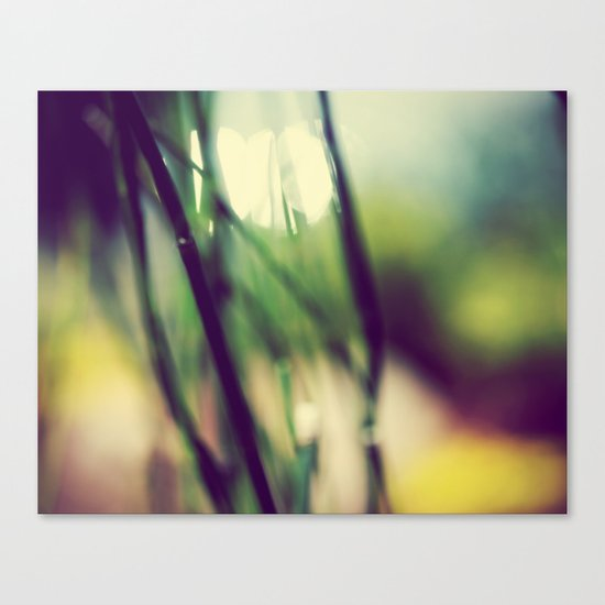 Melting In Canvas Print