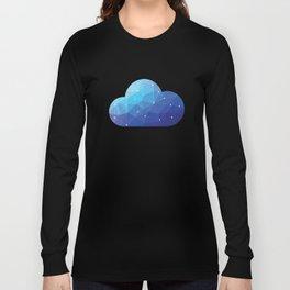 Cloud Of Data Long Sleeve T-shirt