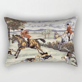 Tally Ho Rectangular Pillow