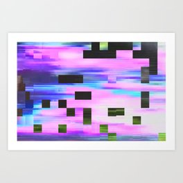 scrmbmosh30x4a Art Print