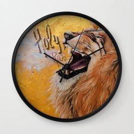Holy Roar Wall Clock