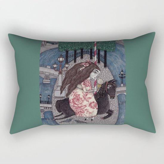 My Summer Days Rectangular Pillow