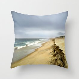 Stormy Evening on Hatteras Island Outer Banks, NC OBX  Throw Pillow