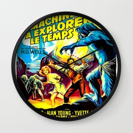 The Time Machine (French) Wall Clock