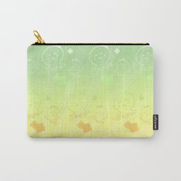 Lady Octopus with handbag pattern Carry-All Pouch