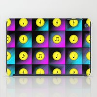 music notes iPad Cases featuring Music notes by Gaspar Avila