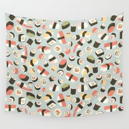 Yummy Sushi! Wall Tapestry