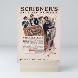 Affiche scribners fiction number. 1906  Mini Art Print