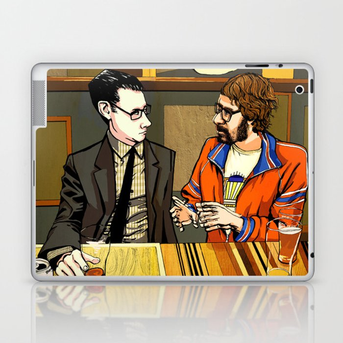 A Conversation About Acid at a Bar With No Name Laptop & iPad Skin