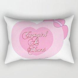 """""""Cowgirl At Heart II"""" Rectangular Pillow"""