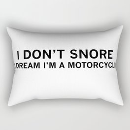 dad gift motorcycle Rectangular Pillow