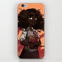 hermione iPhone & iPod Skins featuring Hermione by DellBelle