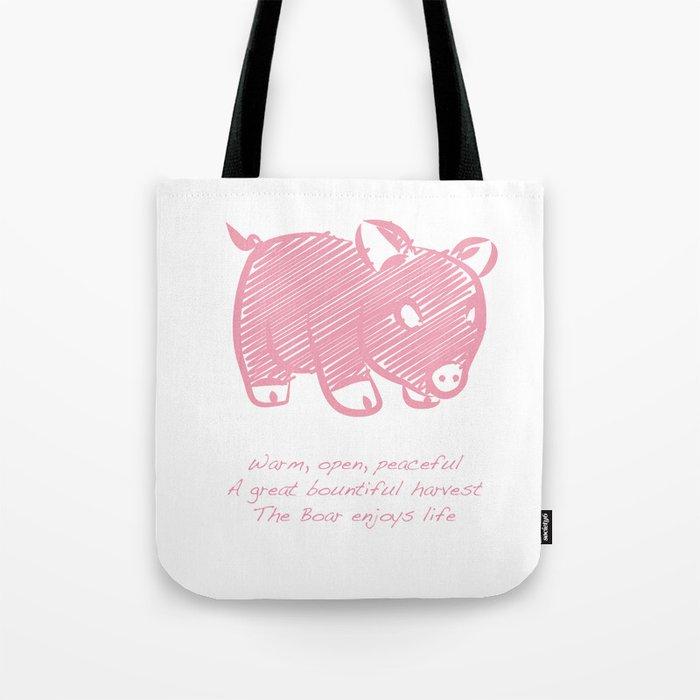 Boar Tote Bag