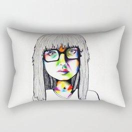 Color girl Rectangular Pillow