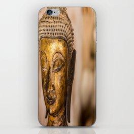Wat Si Saket Buddhas IX, Vientiane, Laos iPhone Skin